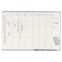 Plánovací tabule 100 x 70cm - Týdenní