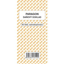 Obchodní paragon, samopropisovací, 50 listů
