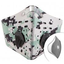 Světlý respirátor s filtrem KN95 Filtr navíc