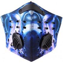 Modrý respirátor s filtrem KN95