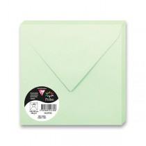 Barevná obálka Clairefontaine sv. zelená, 165 × 165 mm