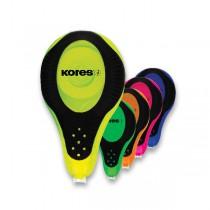 Korekční strojek Kores 2 Way Neon 4,2 mm x 8 m