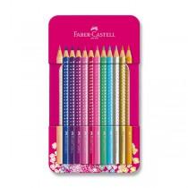 Pastelky Faber-Castell Sparkle 12 barev