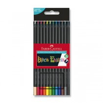 Pastelky Faber-Castell Black Pencil 12 barev