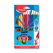 Pastelky Maped Color´Peps Strong Jumbo 12 barev