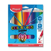 Pastelky Maped Color´Peps Strong 24 barev
