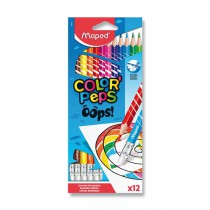 Pastelky Maped Color´Peps Oops 12 barev
