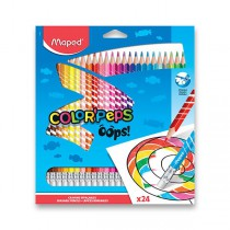 Pastelky Maped Color´Peps Oops 24 barev