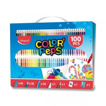 Výtvarná souprava Color'Peps Box 100 ks