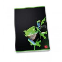 Školní sešit Pigna Green Shiver A4, linkovaný, 40 listů, mix motivů