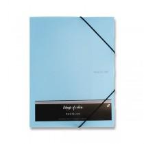 3chlopňové desky Pastelini modré