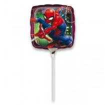 Fóliový party balónek kulatý Spiderman