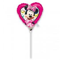 Fóliový party balónek kulatý Minnie 2