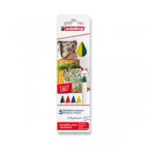 Popisovač Edding na textil 4600 5 barev