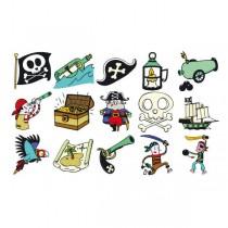 Razítka Aladine Stampo Kids Piráti