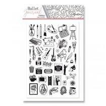 Razítka Stampo Bullet Aladine - Koníčky 46 ks
