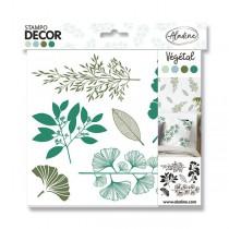 Razítka Aladine Stampo Decor - Rostliny 6 ks