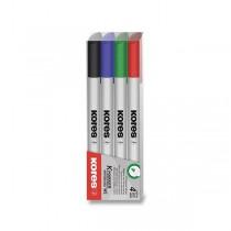 Sada popisovačů Kores K-Marker W1 sada 4 barev