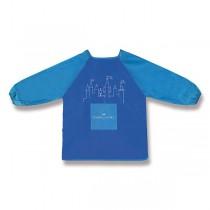 Výtvarná zástěra Faber-Castell modrá