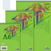 Spirálový blok A6 70 listů