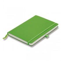 Zápisník LAMY B3 - měkké desky green