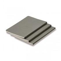 Sešity LAMY B6 - měkké desky A6, linkované, 3 ks, grey
