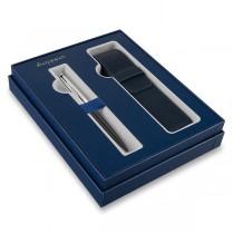 Waterman Emblème Black CT kuličková tužka, dárková sada s pouzdrem