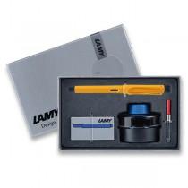 Lamy Safari Mango plnicí pero, dárková sada s konvertorem a inkoustem