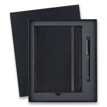 Lamy Tri Pen ST Matt Black multifunkční tužka, dárková sada se zápisníkem