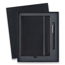 Lamy Cp 1 Matt Black kuličková tužka, dárková sada se zápisníkem