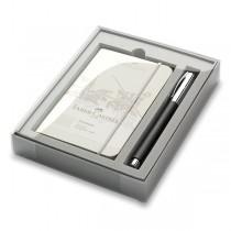 Faber-Castell Ambition Precious Resin roller, dárková sada se zápisníkem