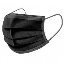 Jednorázová hygienická rouška černá - 10ks