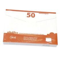 Samolepicí obálky C5, 50 ks
