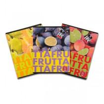 Školní sešit Pigna Fruits A5, linkovaný, 40 listů, mix motivů