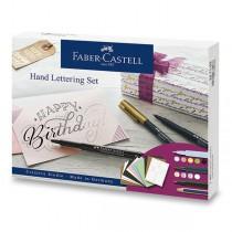 Popisovače Faber-Castell Pitt Artist Pen Hand Lettering 12 ks