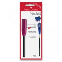 Grafitová tužka Faber-Castell Perfect Pencil III blistr, mix barev