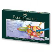 Akvarelové pastelky Faber-Castell Albrecht Dürer Magnus dárková krabička, 12 barev