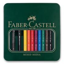 Akvarelové pastelky Faber-Castell Albrecht Dürer Magnus plechová krabička, 8 barev