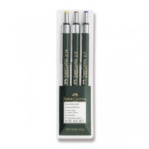 Mechanická tužka Faber-Castell TK Fine sada 3 ks