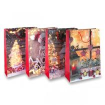 Dárková taška Vánoce 320 x 260 x 120 mm