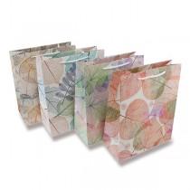 Dárková taška Listy 230 x 180 x 100 mm