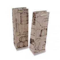 Dárková taška Víno - Sudy na lahev