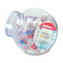 Dezinfekční gel na ruce Kores dóza, 27 ks, 50 ml