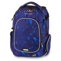 Školní batoh Walker Campus Evo Wizzard Laser Blue