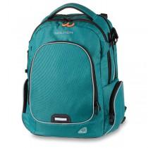 Školní batoh Walker Campus Evo Wizzard Petrol Melange