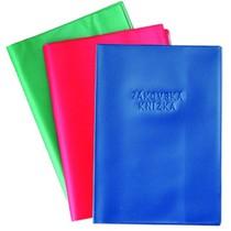 Obal na žákovskou knížku - mix barva