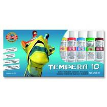 Temperové barvy Koh-i-noor - 10ks, 16ml