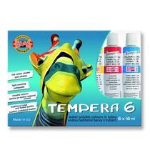 Temperové barvy Koh-i-noor - 6ks, 16ml