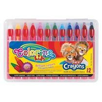 Barvy na obličej Colorino 12ks x 4,5g