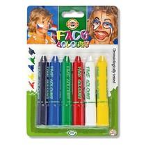 Barvy na obličej Koh-i-noor 4610 - 6ks